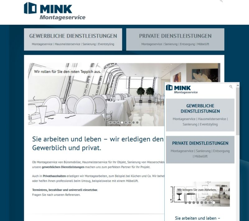 mink-montage website